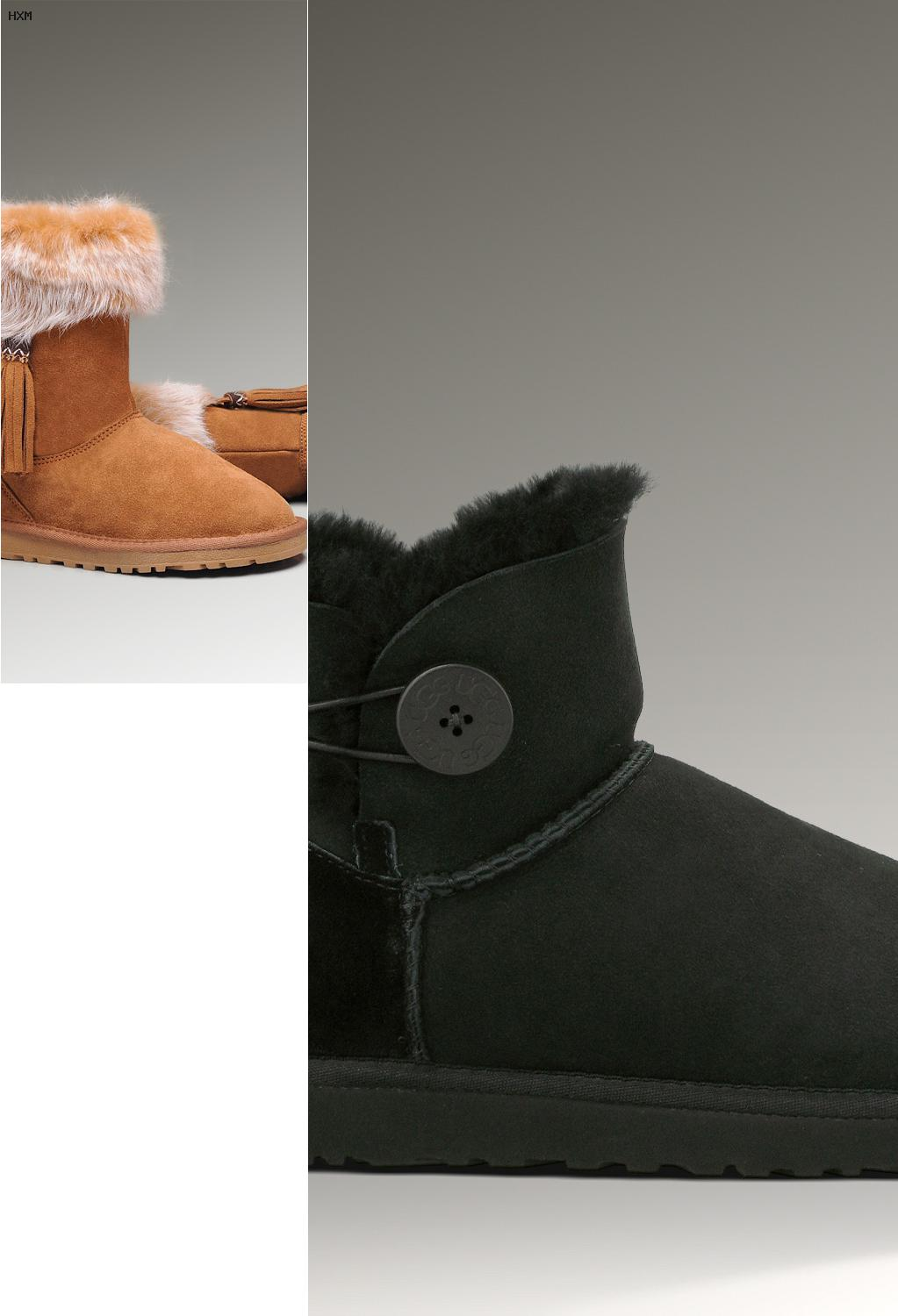 claquette ugg rouge
