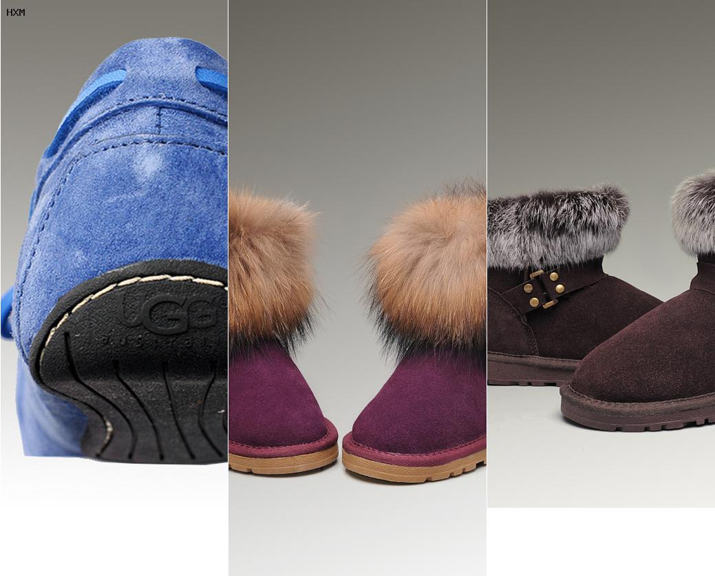 comment taillent les chaussures ugg